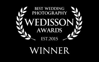 2 fotos ganadoras en los WEDISSON AWARDS!!!